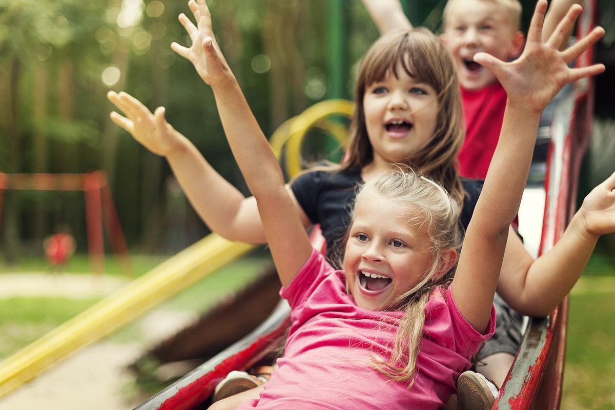 Картинка веселящиеся дети