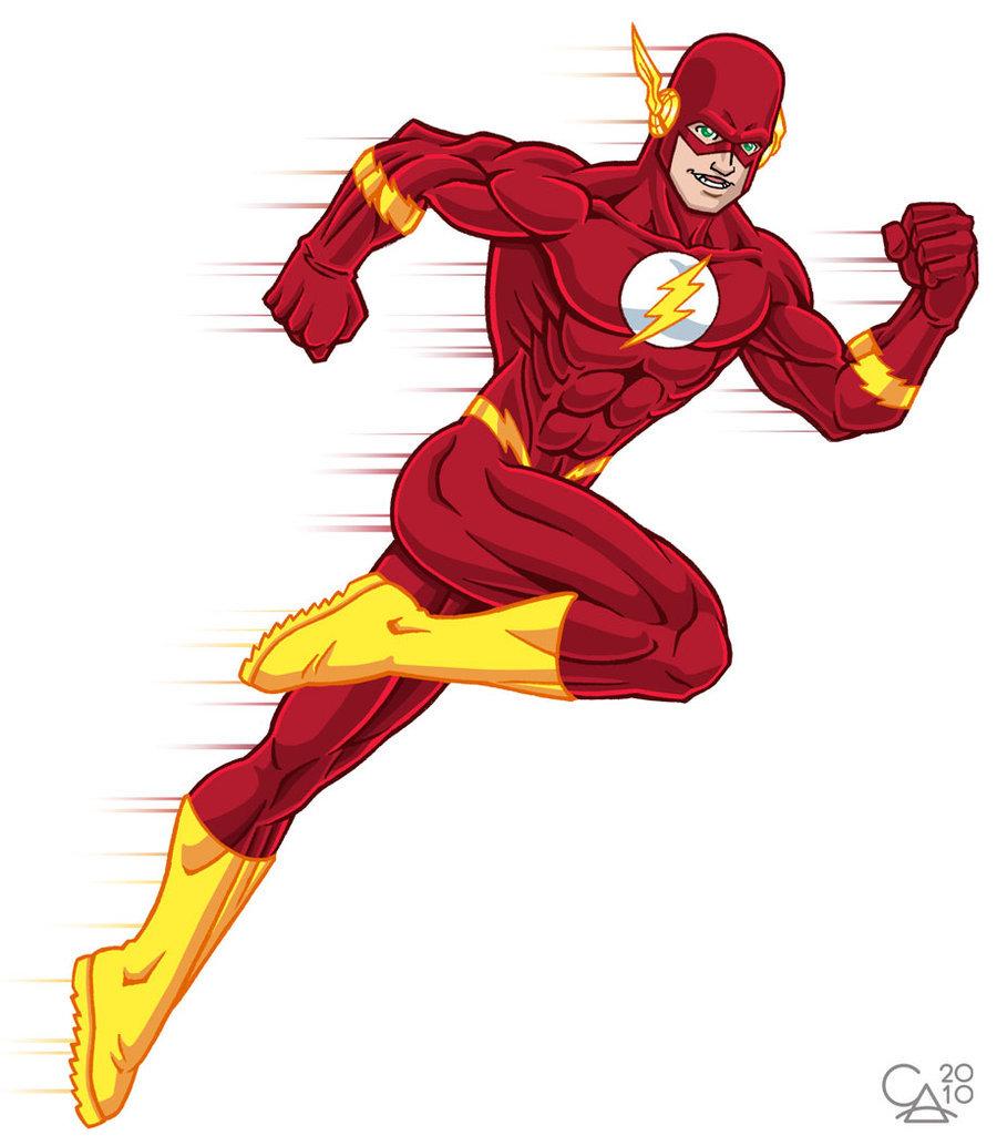 Супер Герой С Знаком Молнии