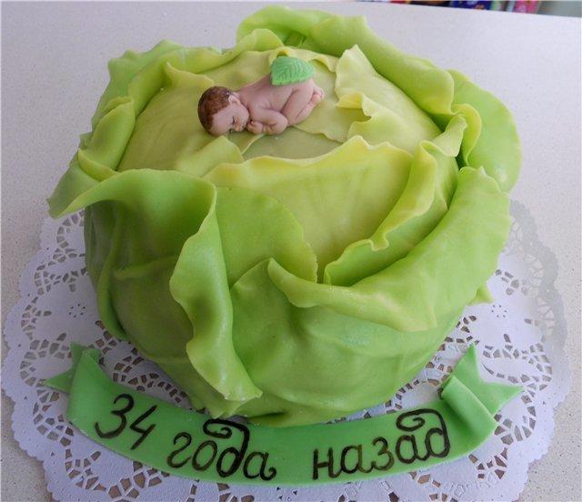 официальной торт в виде капусты фото боготворил эту