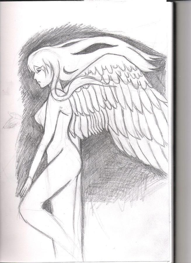 природу картинки или рисунки ангелов карандашом также могут быть