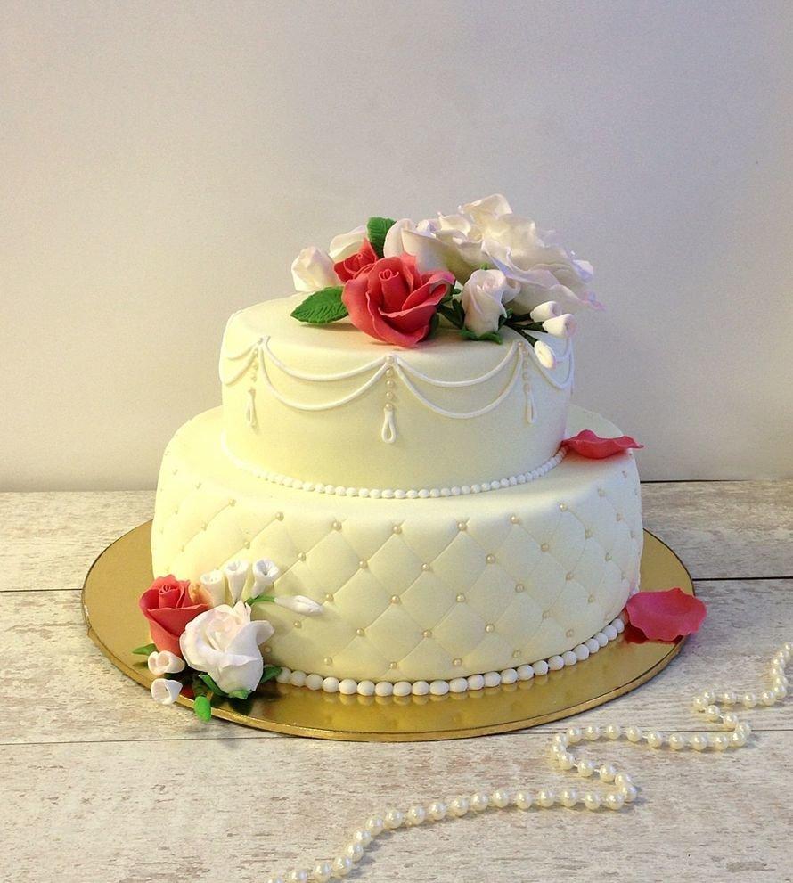Свадебные торты с картинками