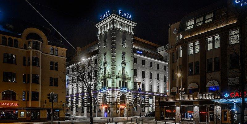 Отель Radisson Blu Plaza Hotel Helsinki 4*