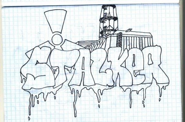 Рисунки для срисовки прикольные для мальчиков граффити