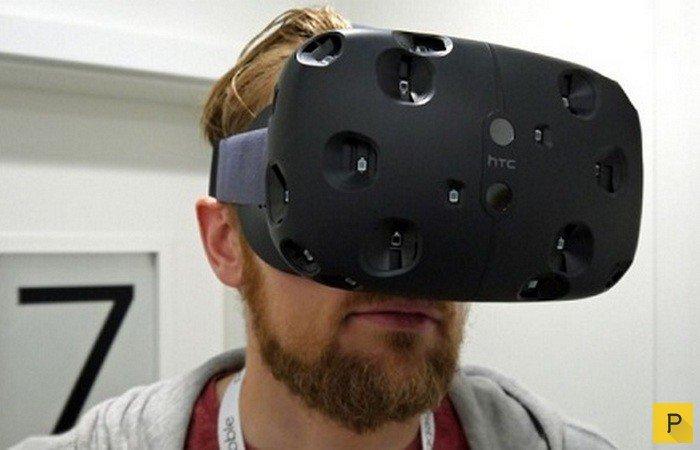 HTC Re Vive является первым шагом в виртуальную реальность Источник: pressa.tv