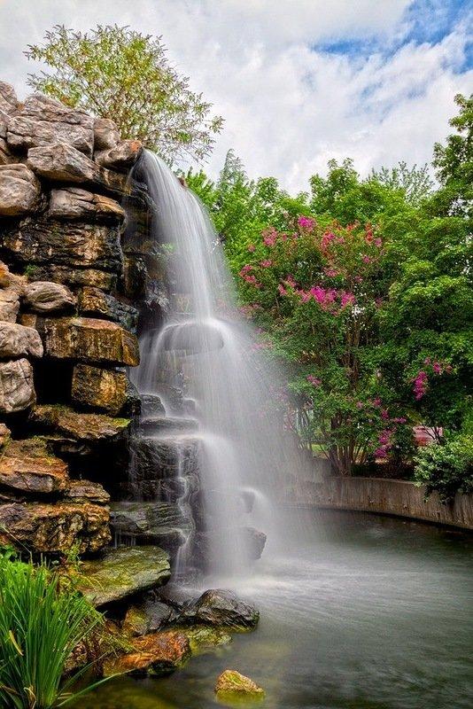 водопады обои на телефон вертикальные пчелу
