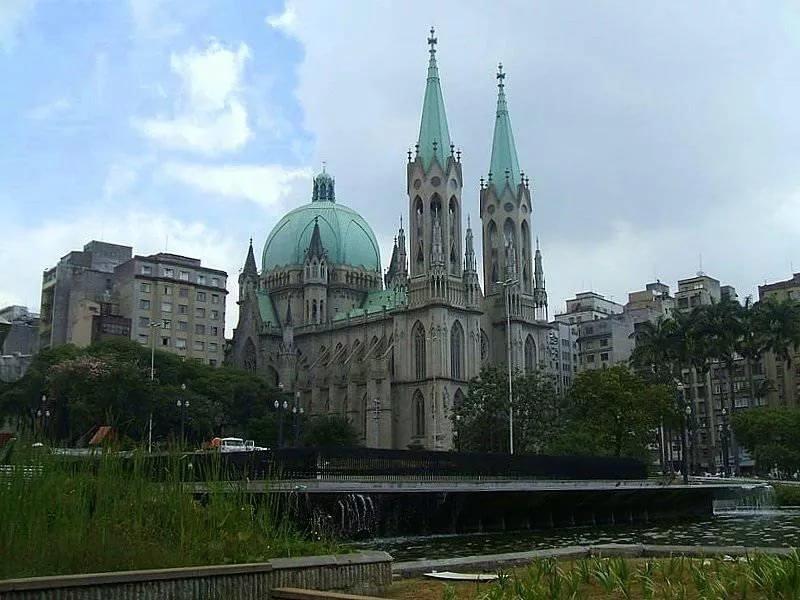 Кафедральный собор Сан-Паулу (Catedral da Se de Sao Paulo)