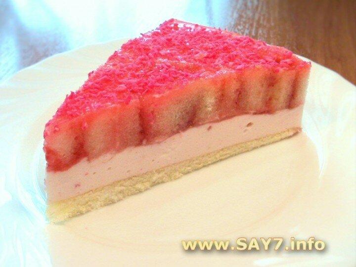 Торты и пирожные: Торт бисквитно-желейный