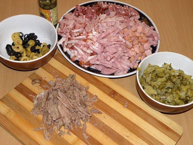 как приготовить мясную солянку пошаговый рецепт с фото
