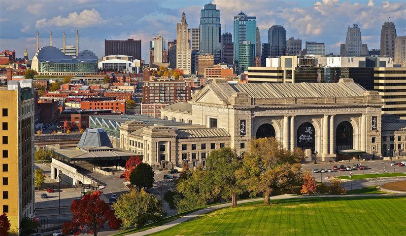 Канзас-Сити - город в США, на западной границе штата Миссури