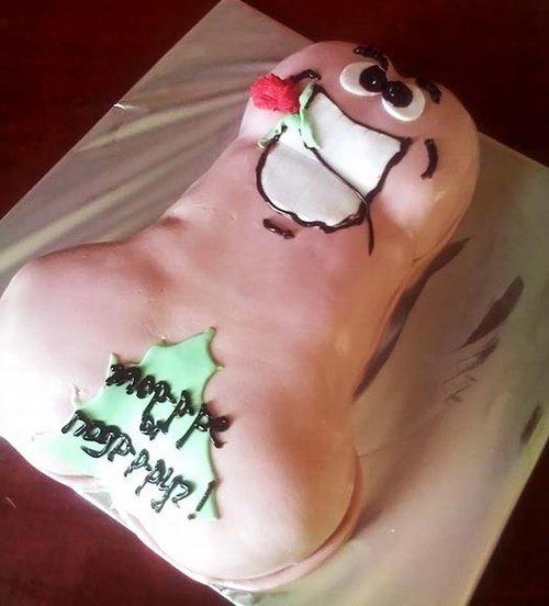Эротичный тортик. Фото