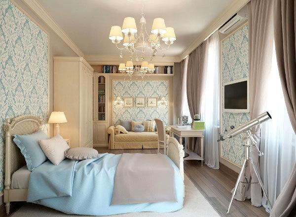 Обои для спальни :: Фото красивых интерьеров Обои, которые подходят для интерьера спальни подбираются из трех основных  групп. Это могут быть бумажные, виниловые или текстильные обои.