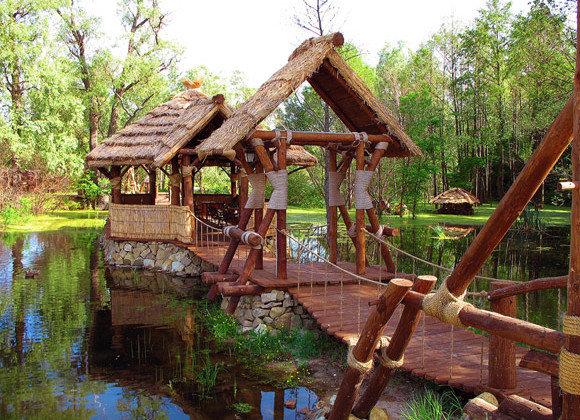 Ландшафтный дизайн дачи своими руками: Основные принципы ландшафтный дизайн русский стиль