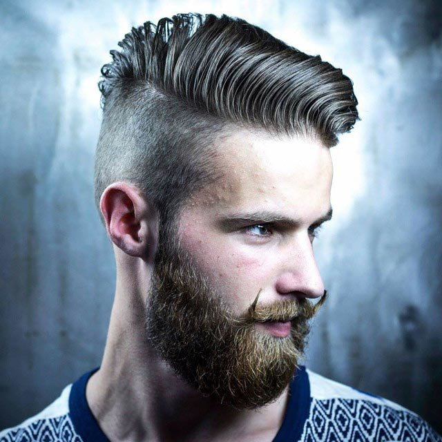 Контраст длинных и коротких волос  для модной интерпретации прически
