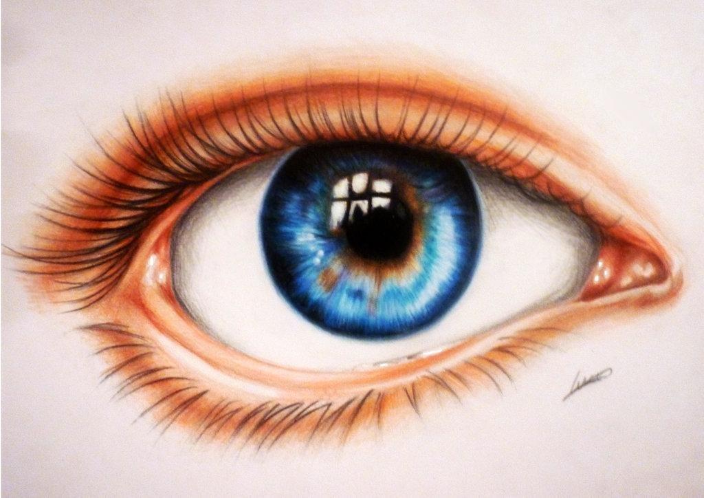 рисуем глаза с картинками появилось