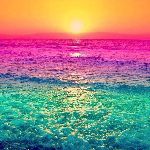 цветные моря картинки время