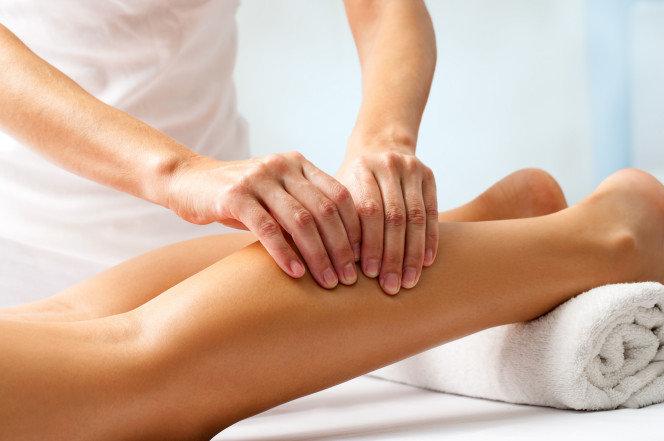 Лимфодренажный массаж стоп