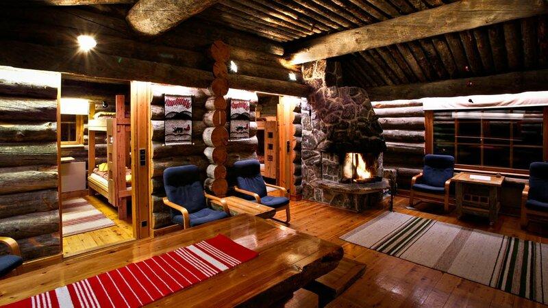 деревяный отель в Финляндии