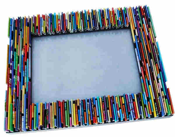 рамка для фото своими руками из бумаги помощи керамической