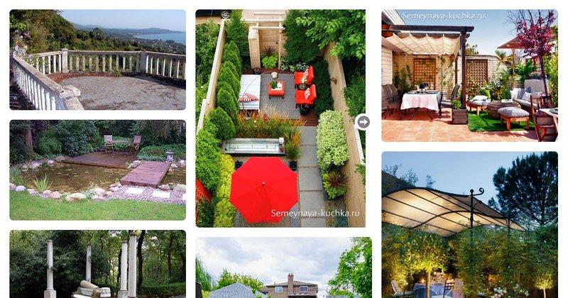 Площадки для отдыха в саду - коллекция пользователя natalibi