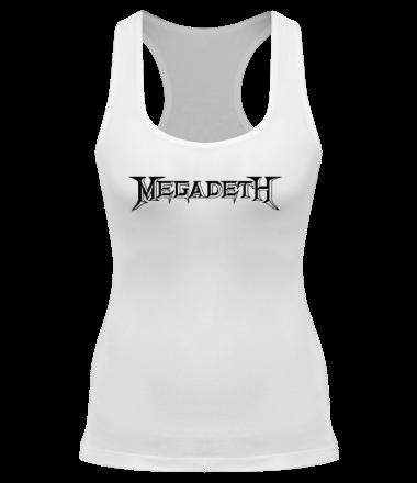 Женская майка борцовка Megadeth