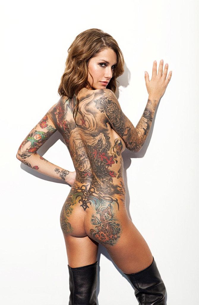 эротическое фото с татуировками вообще очень