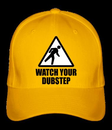 Бейсболка Watch your dubstep