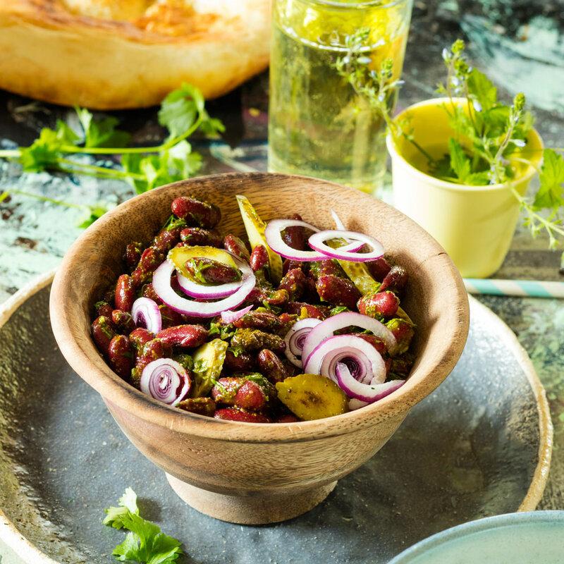 Рецепт - Закуска из красной фасоли по-грузински - с фото