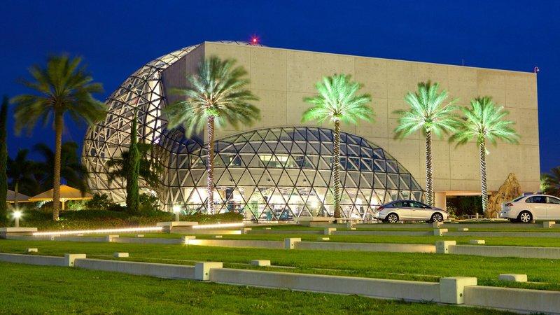 Американский музей, в котором собрана коллекция работ известного испанского художника Сальвадора Дали.