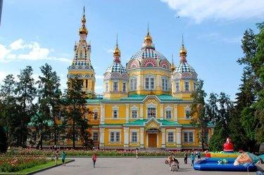 вознесенский кафедральный собор алма ата
