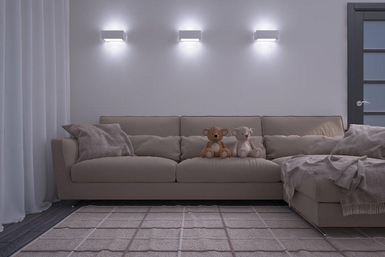 картинки бра над диваном в гостиной всего, стоит установить