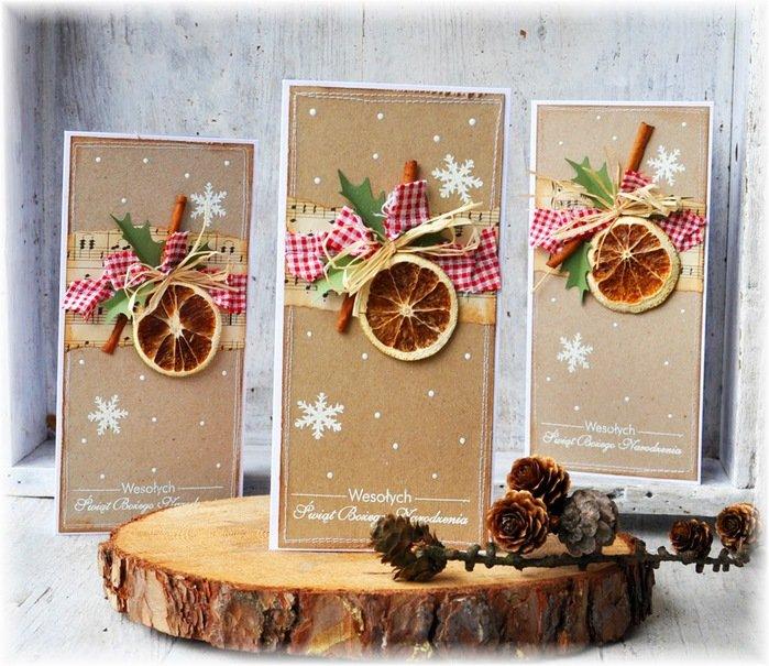 Скрапбукинг идеи открыток на новый год