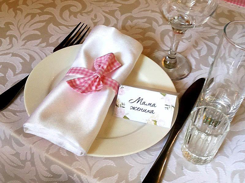 данного вида салфетки для свадьбы картинки приготовить отварную