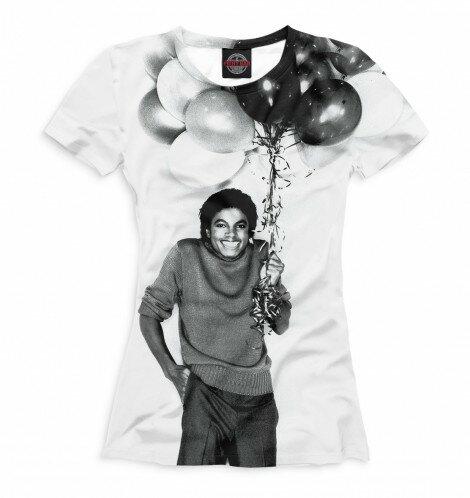 Футболка для девочек Michael Jackson