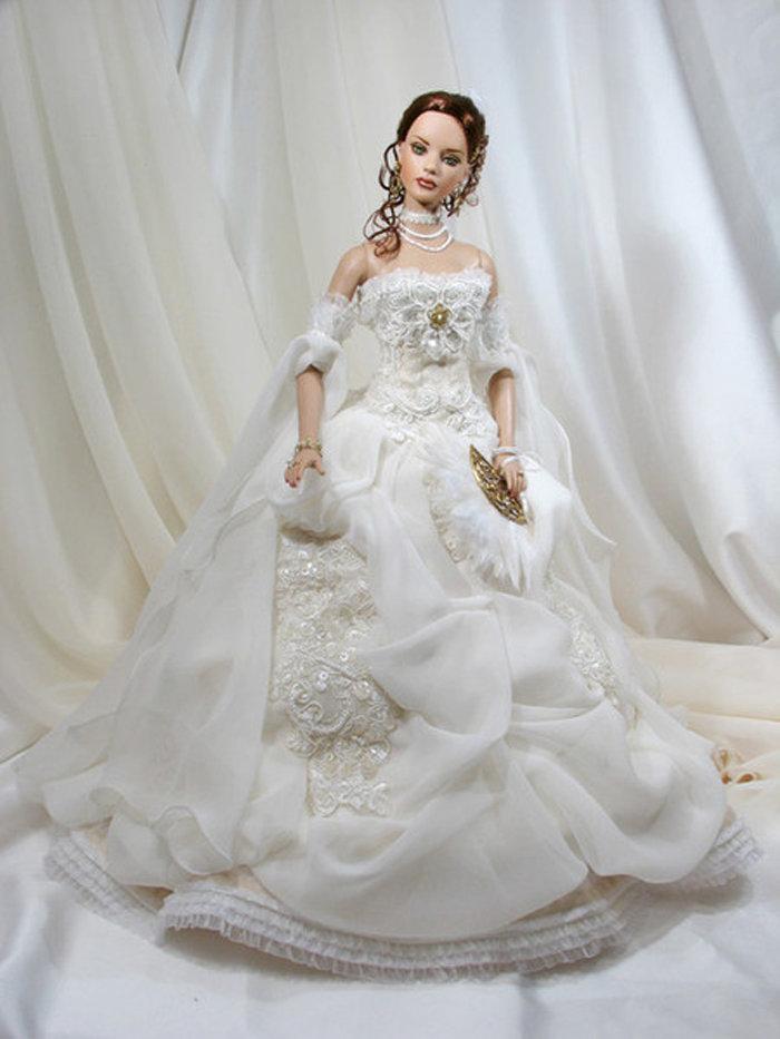 платье для куклы невесты фото лью слёз украдкой