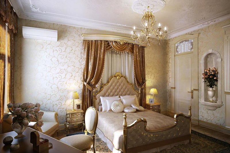 Спальня в английском стиле — отделка, цвет, мебель, текстиль Дизайн спальни в английском стиле