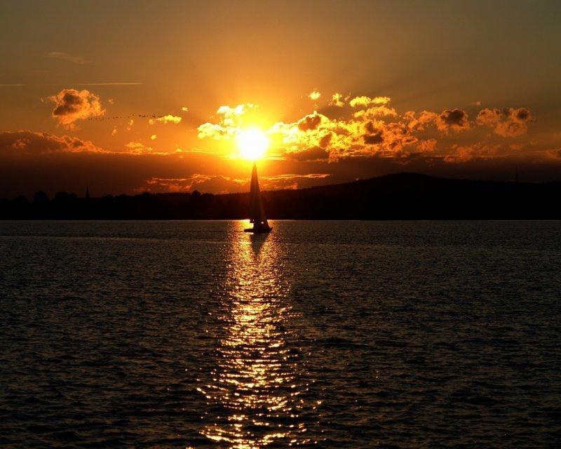 Открытки с закатом солнца, владимирской