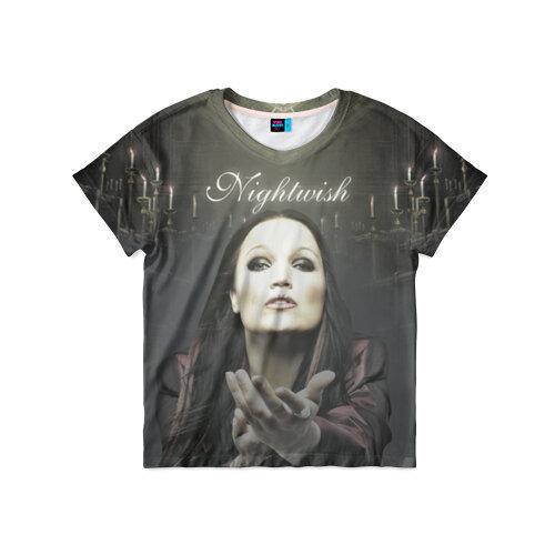 Детская футболка 3D Тарья Турунен Nightwish