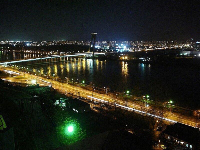 Ночная Братислава
