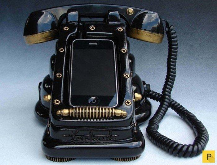 Это iRetrofone Steampunk