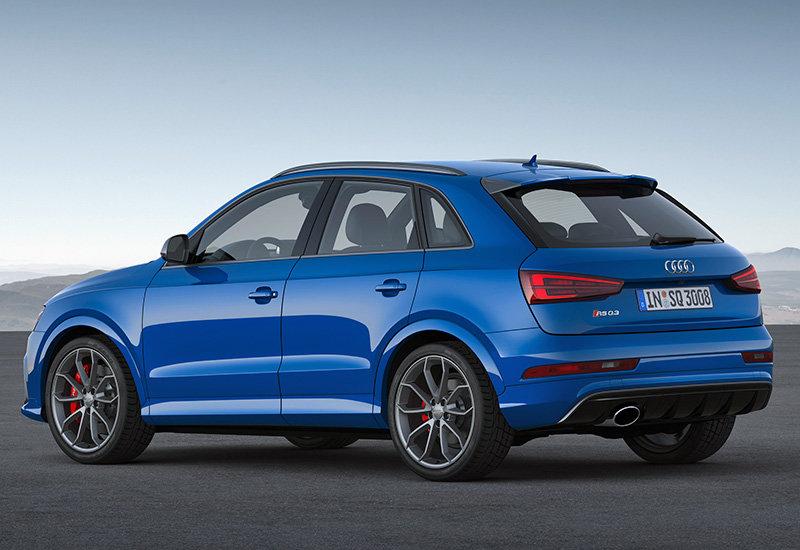 """2017 Audi RS Q3 Performance, кроссовер, синего цвета ..."