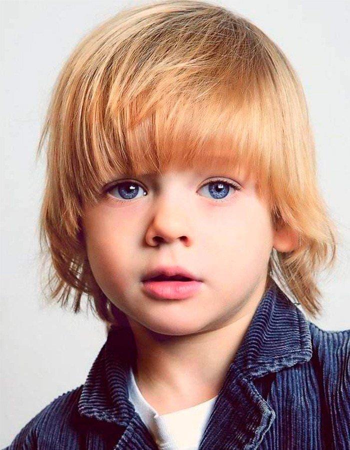 Прически для мальчика 2 лет фото