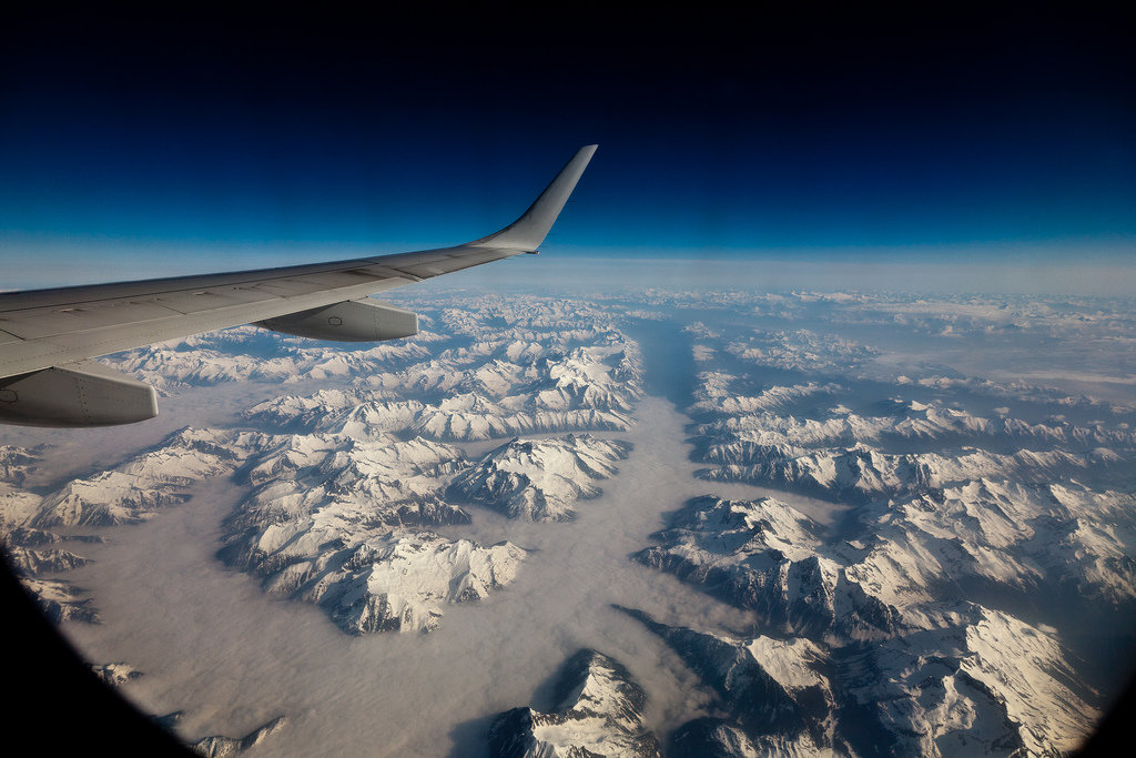 views from a plane - 1024×683