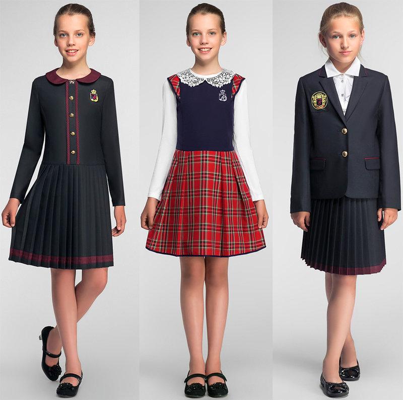 Красивая и желанная школьная форма