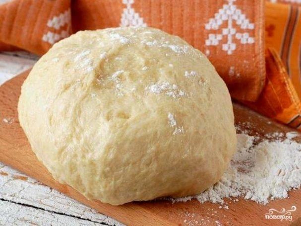 Тесто для пирога во время поста