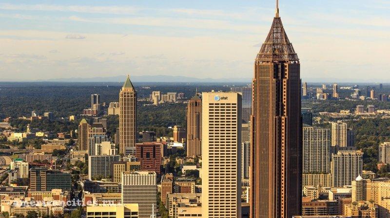 Атланта - столица штата Джорджия.