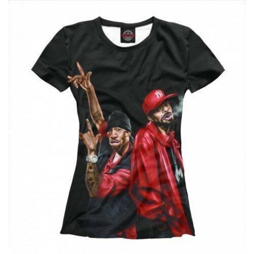 Женская футболка 3D Red  Meth