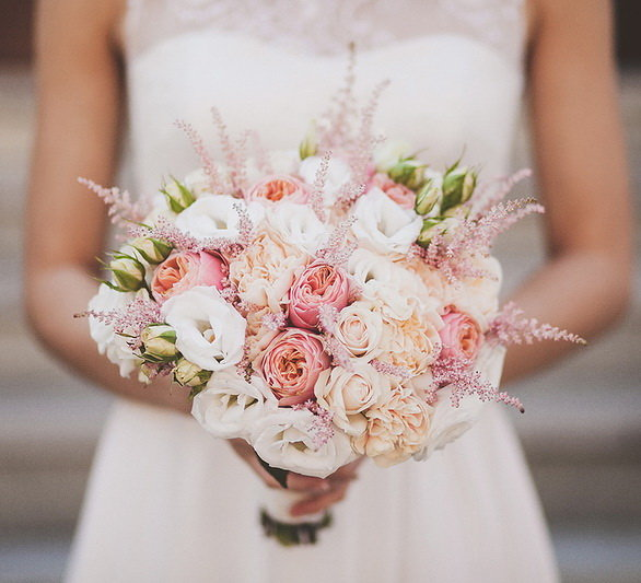 Названия цветов и растений для свадебного букета (с фото)
