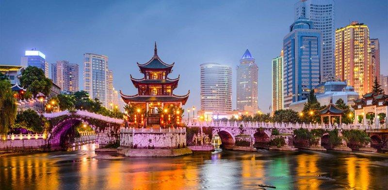 Великолепный вечерний Китай