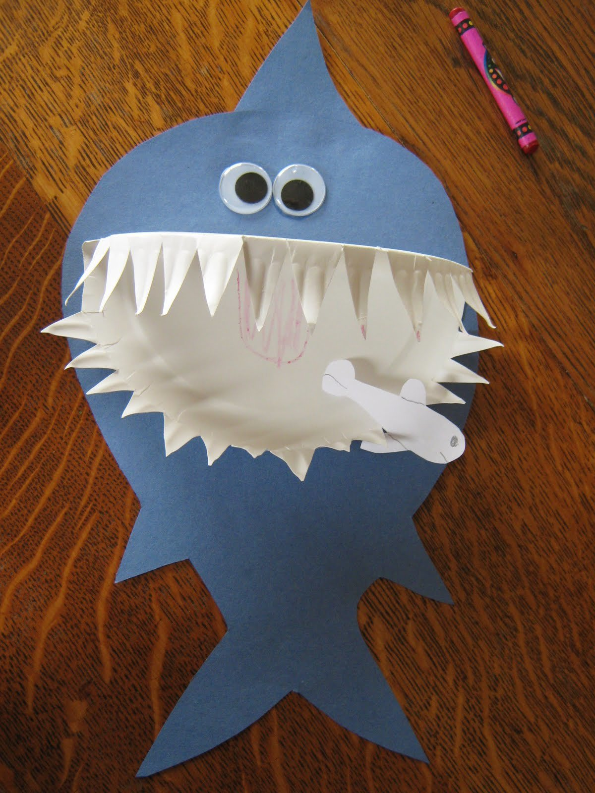 Открытка акула своими руками, надписи картинками