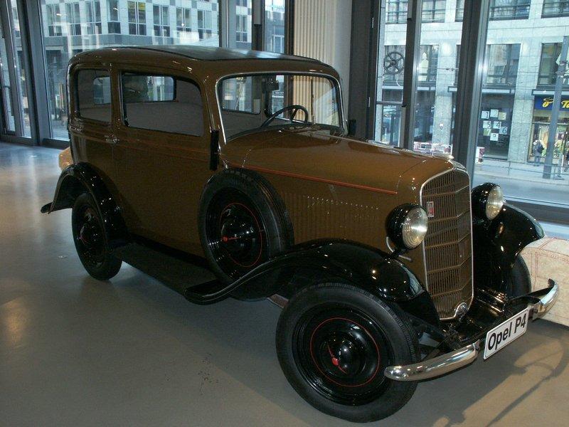 opel p4. Годы пр-ва:1935—1937 65864 произведено.
